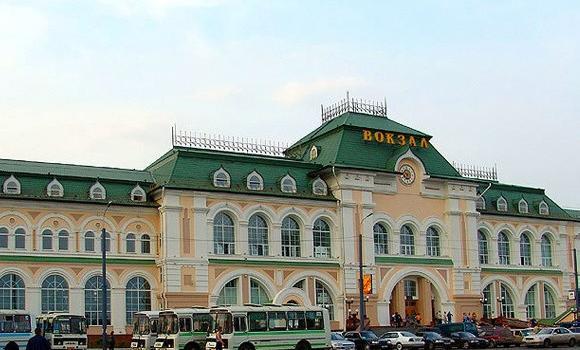 ЖД Вокзал ЖД вокзал Хабаровск-1